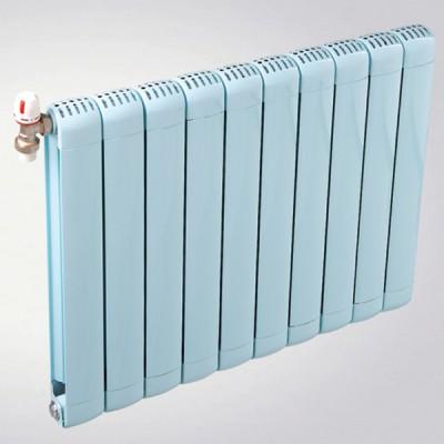 家用集中供暖专用京美达铜铝复合80x80双剑散热器