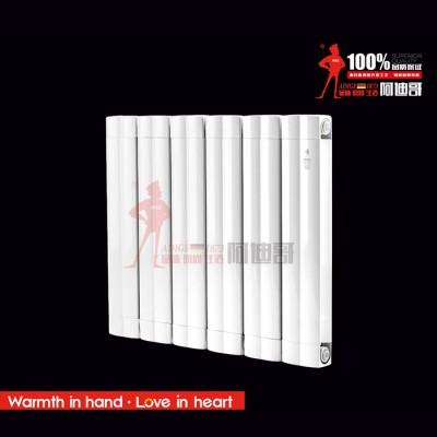 铜铝复合122X60散热器支持定做  辽宁暖气片厂批发价格