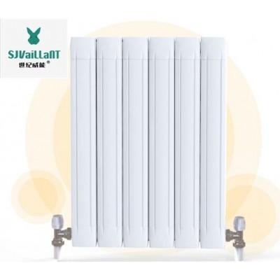 家用铜铝暖气片 批发零售95*80铜铝复合建筑采暖散热器