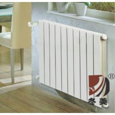 家用铜铝暖气片几平米一片 山西采暖散热器批发商