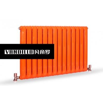 北京凡帝罗采暖知名品牌钢制60螺旋纹散热器厂家直销