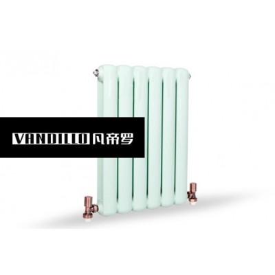 山东凡帝罗十大品牌钢制70圆片头采暖散热器原装现货