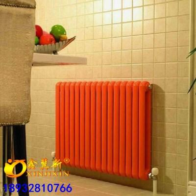 QFGZ210钢二柱暖气片@钢制家用散热器耐腐浊销量高