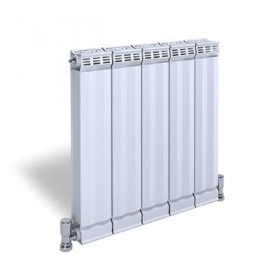 目森散热器铜铝复合120x80暖气片