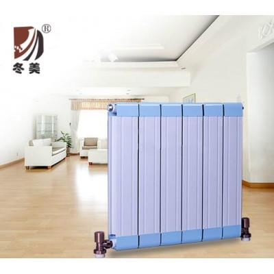 山东家用铜铝暖气片配置 采暖散热器系统安装