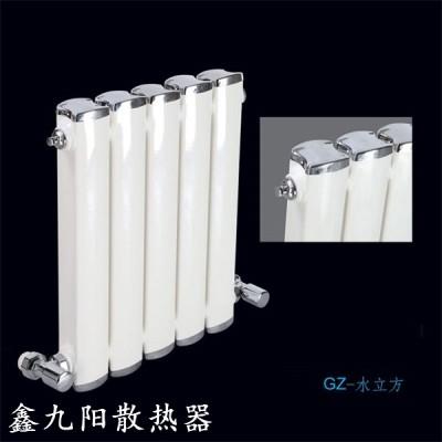 山东钢制散热器生产厂家鑫久阳 水立方暖气片