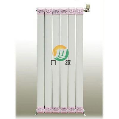 铜铝复合柱翼型散热器生产厂家 新型家用暖气片