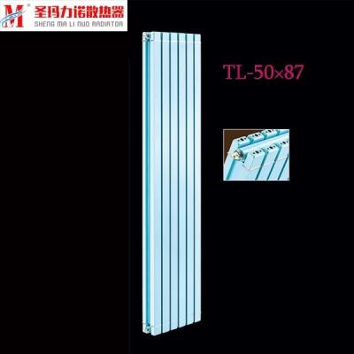 北京知名铜铝暖气片厂家圣玛力诺批发铜铝复合50x87散热器