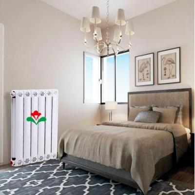 天津暖气片厂家鸿顺和批发铜铝85x75散热器