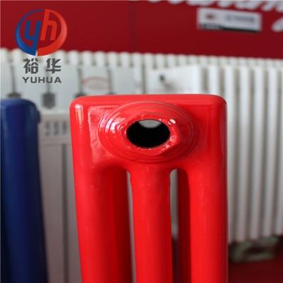 QFBGDJ305钢三柱工程落地暖气片—裕华采暖