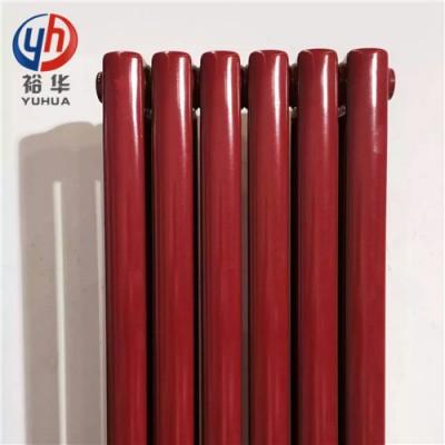 椭柱(管60*30)钢二柱圆钢管暖气片(安装方式)_裕华采暖