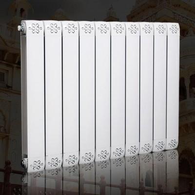 家用水暖壁挂式德朗克铜铝复合80/80散热器(白色)