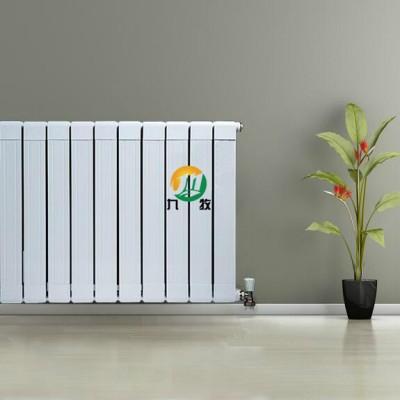 铜铝复合85-75散热器供应商 北京九牧暖气片厂