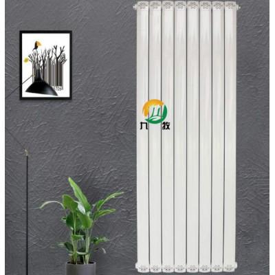 内蒙古铜铝复合采暖散热器价格 家用暖气片厂九牧