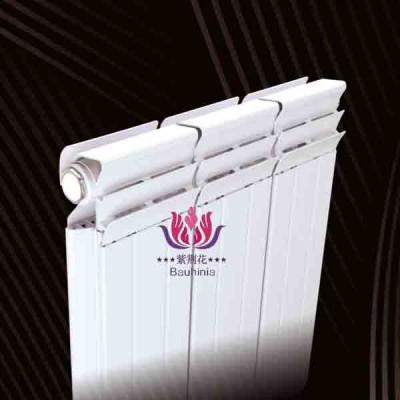 江苏铜铝复合防熏墙132-60散热器厂家 紫荆花