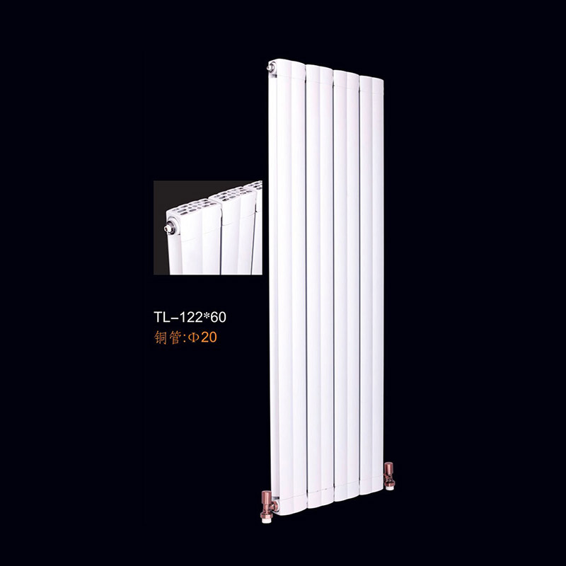 上海鑫九阳铜铝复合122x60散热器优质材料防腐蚀