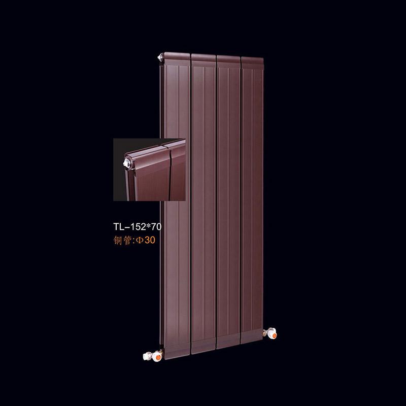 河北鑫九阳铜铝复合152x70散热器紫铜管材真材实料