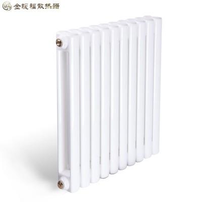 天津钢制60方片头散热器厂家金暖福