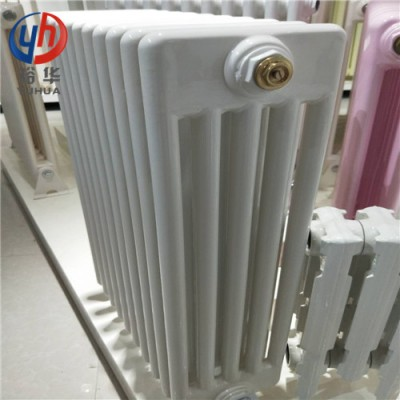 GZ509钢制圆片头五柱型散热器(图片、厂家)_裕华采暖