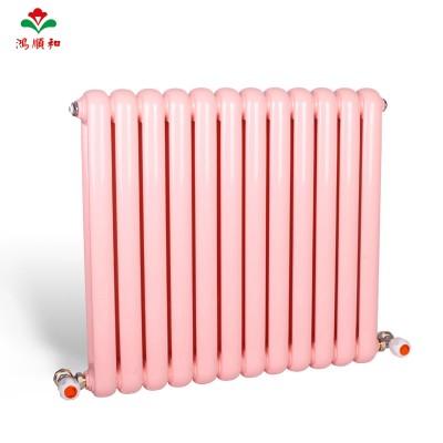 鸿顺和散热器-钢制50圆双柱散热器