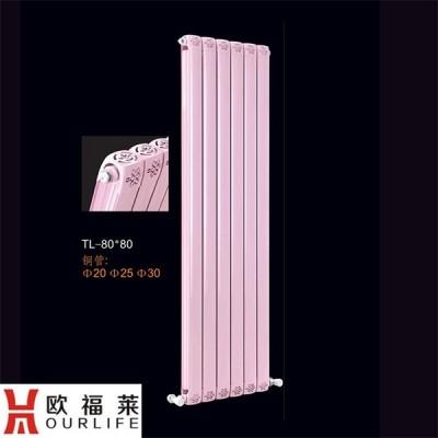 家用铜铝复合80x80暖气片 北京暖气片厂家欧福莱