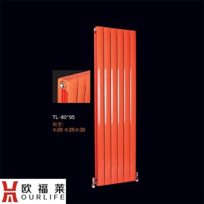 家用铜铝复合80x95暖气片 采暖散热器厂欧福莱
