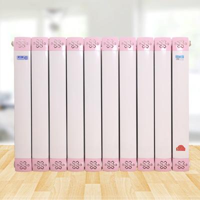 8080型 铜铝散热器 壁挂式暖气片 新颖暖气片 水暖散热器