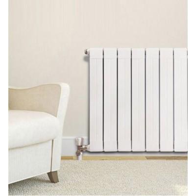 北京津生铜铝暖气片铜铝75x75散热器环保材质安全放心