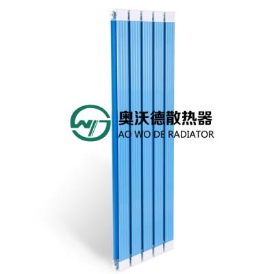 天津散热器厂奥沃德批发铜铝复合罗马方暖气片