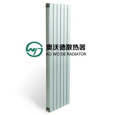 铜铝复合75X75散热器批发 家用暖气片厂奥沃德