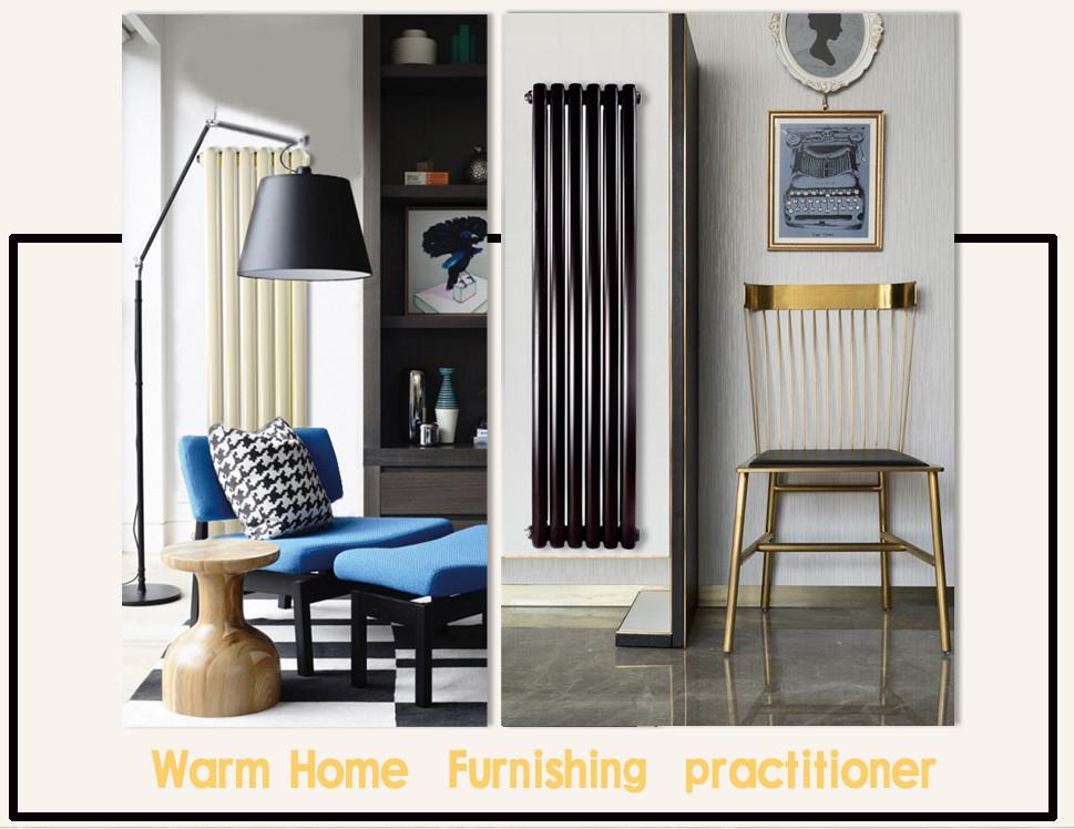 美观时尚的暖气片?以黑色的时尚,填补家装空白!