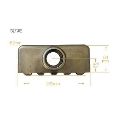 天津恒鼎散热器片头钢六柱散热器片头质量保证