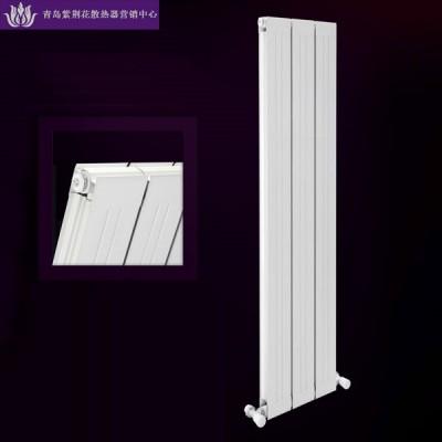 青岛紫荆花散热器营销中心批发铜铝复合114X60散热器
