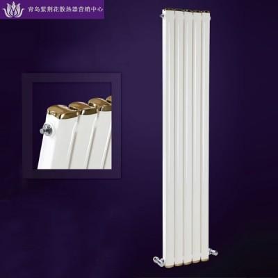 青岛散热器批发商供应紫荆花钢制水立方散热器