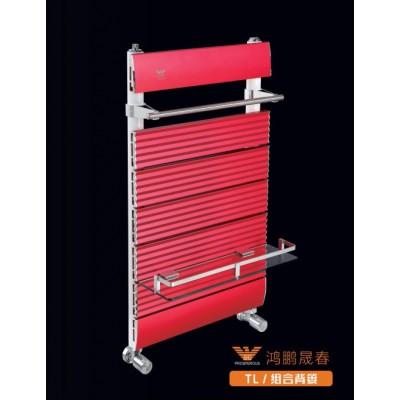 鸿鹏晟春铜铝复合散热器组合背篓 家用暖气片厂