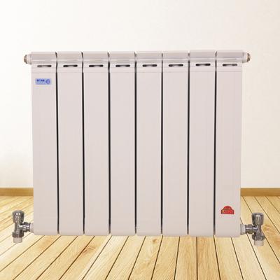 铜铝复合散热器 春光牌 8575 防熏墙款散热器 可定制款