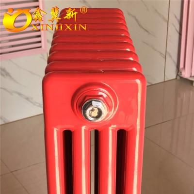 钢制柱式散热器工业用@钢制四柱散热器生产厂家