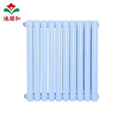 散热器厂家鸿顺和 批发壁挂式钢二柱暖气片
