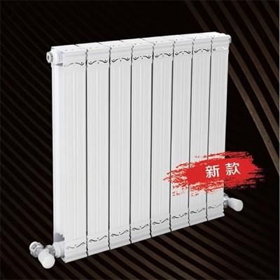 沈阳散热器厂家直销 紫荆花铜铝复合75x75散热器安装