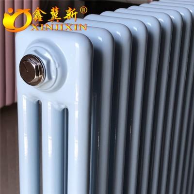 钢制三柱暖气片厂家@工程专用暖气片大功率散热器