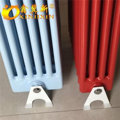 钢制柱型gz606散热器@钢制柱型厂房用散热器鑫冀新暖气片