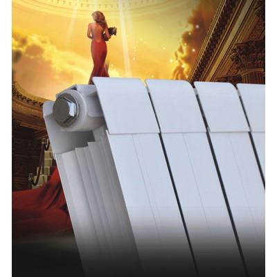 四川津生75X75铜铝复合散热器高效节能持久耐用