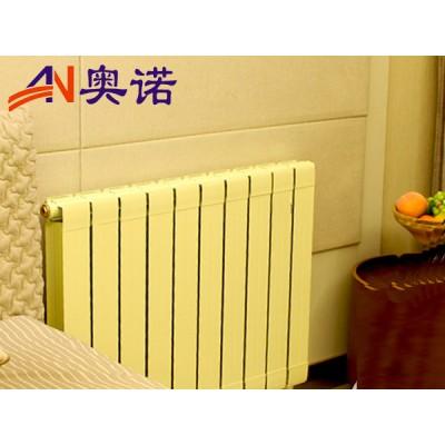 家用铜铝复合75x75散热器质量保证 黑龙江暖气片厂