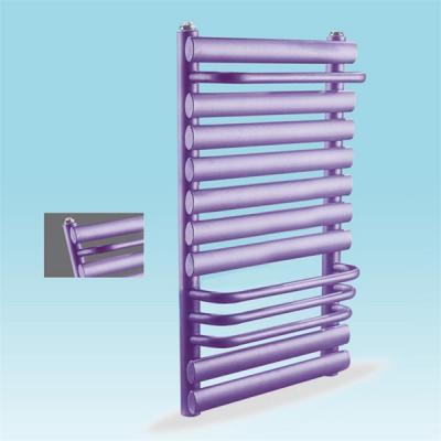 紫色搭接卫浴型散热器 黑龙江家用暖气片厂鼎尚