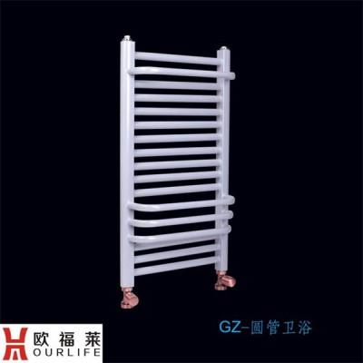 辽宁钢制圆管卫浴散热器生厂家欧福莱 暖气片安装