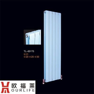 山西铜铝复合85-75散热器报价 家用暖气片标准