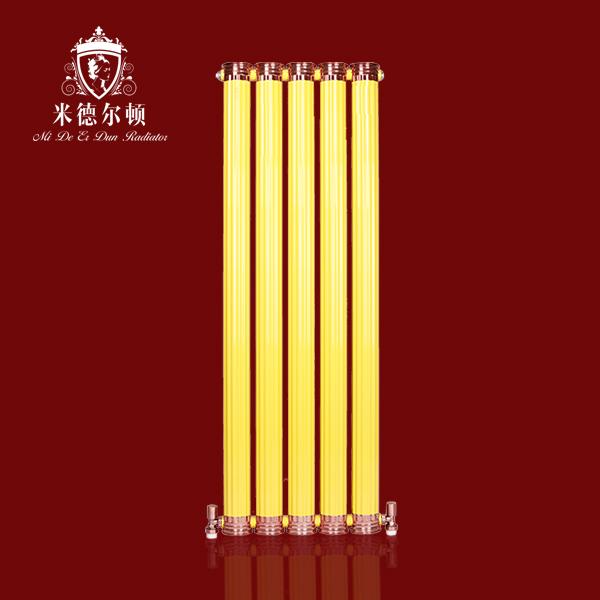 铜铝圆罗马柱散热器