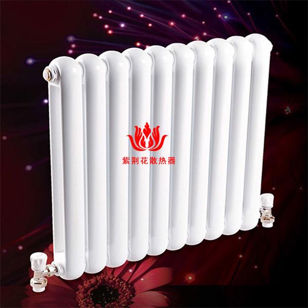 北京钢制散热器厂家 壁挂式家用暖气片品牌紫荆花