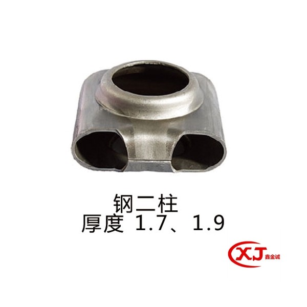 鑫金诚钢二柱散热器片头质量保证 暖气片片头种类