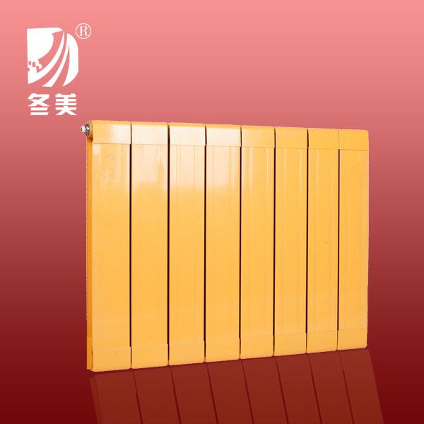 冬美散热器 铜铝复合85x80散热器